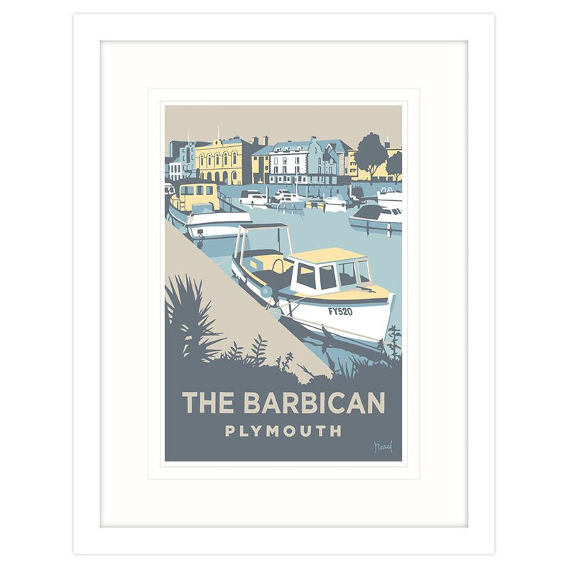 The Barbican, Plymouth Framed Print