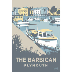 The Barbican, Plymouth Art Print