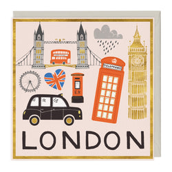 This Is London Greeting Card