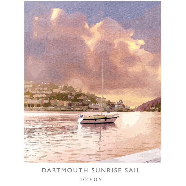 Dartmouth Sunrise Art Print