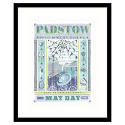 Padstow May Day Framed Print