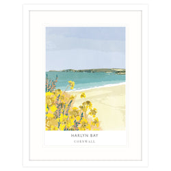 Harlyn Bay Framed Print