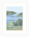 Dartmouth Travel Art Framed Print