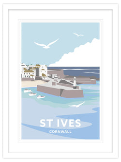 St Ives Cornwall Small Framed Print