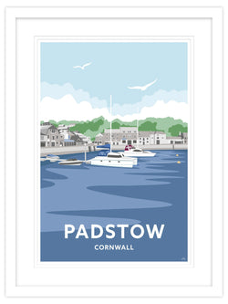 Padstow Strand Cornwall Small Framed Print