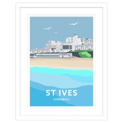 St Ives Tate Gallery Framed Small Framed Print