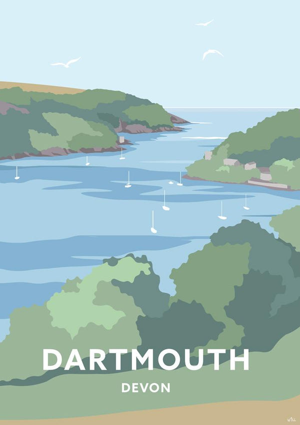 Dartmouth Travel Art Print
