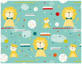 Little Lion Children's Wrapping Paper