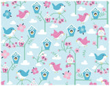 Bluebird Wrapping Paper