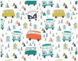 Happy Campers Wrapping Paper