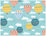 Up In The Air Balloon Wrapping Paper