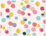 Confetti Dots Colourful Wrapping Paper