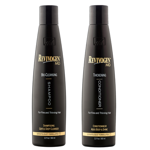 09. Revivogen Cleansing Set (Revivogen MD Shampoo 360ml + Revivogen MD Conditioner 360ml)