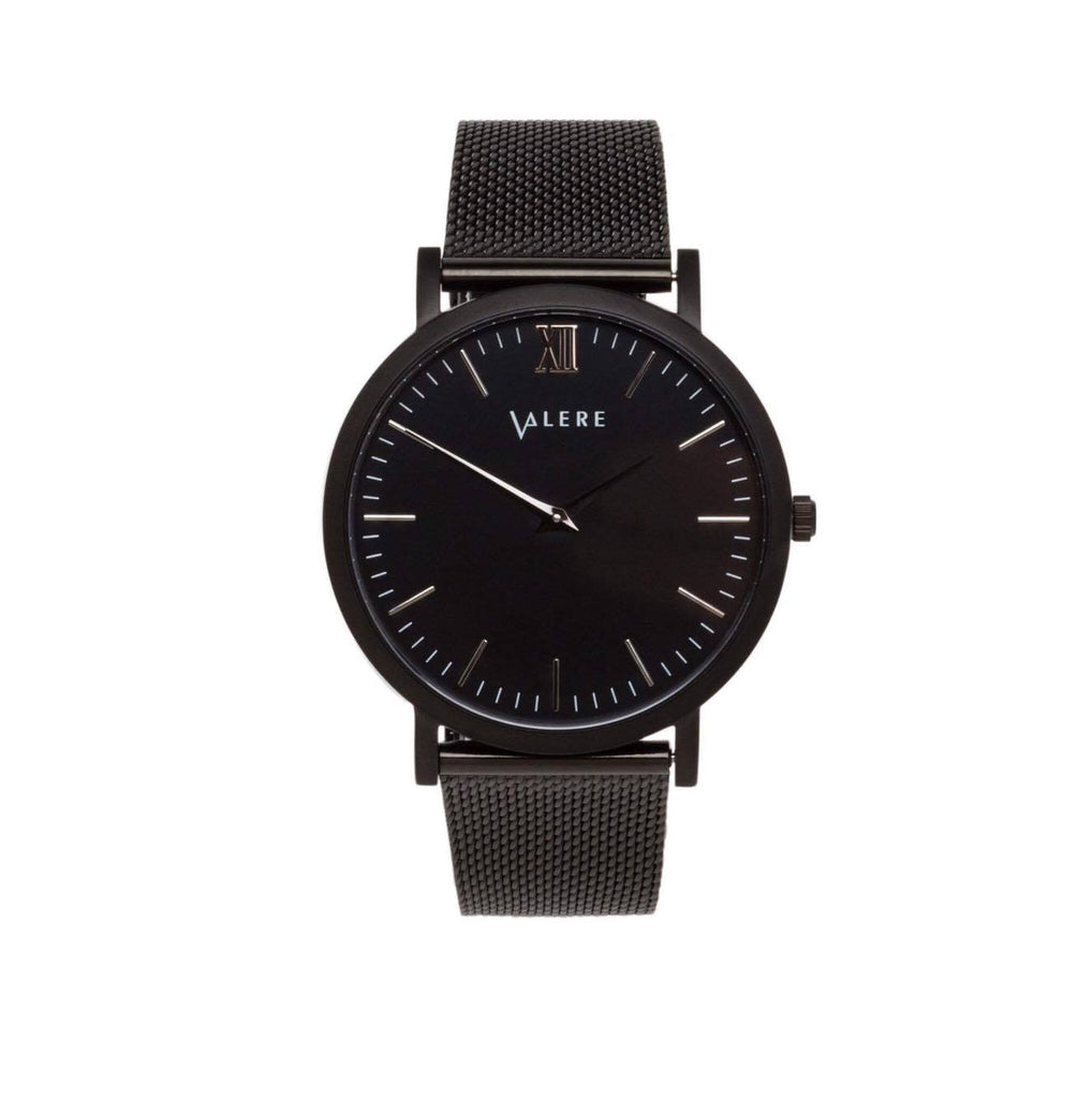 Primus Matte Black with Black Mesh Strap