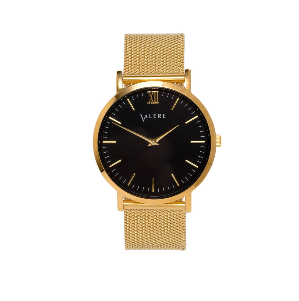 Primus Gold with Gold Mesh Strap