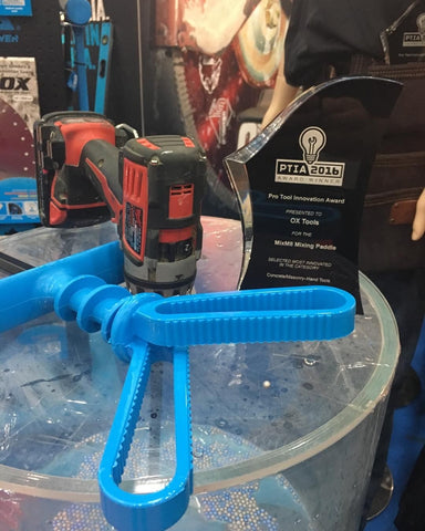MixM8 Mixing Paddle for Quick Set, Mortar, and More