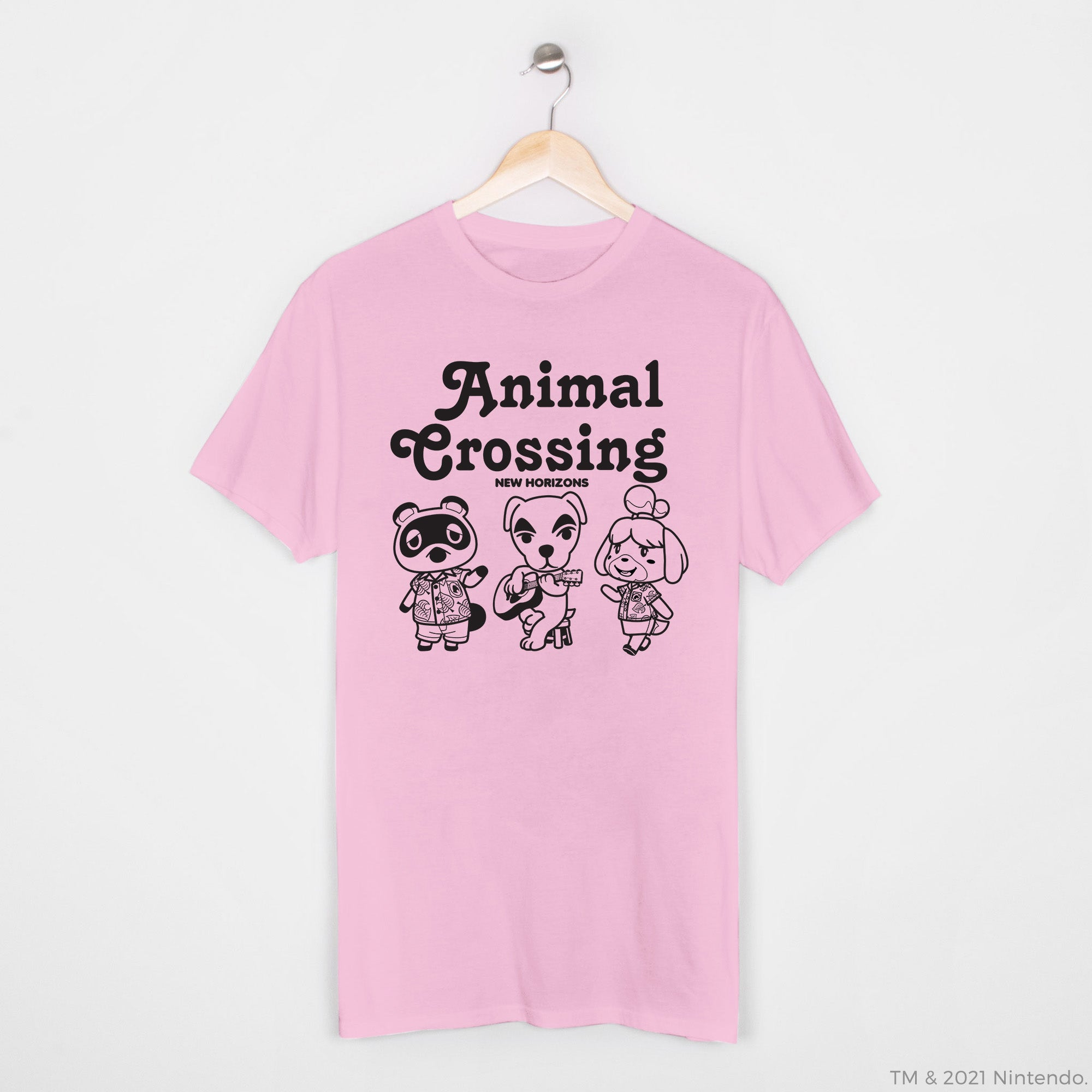 Animal Crossing™: New Horizons - Tom Nook, K.K., & Isabelle Character T-Shirt