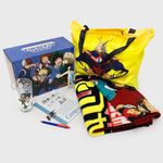 my hero academia mha bnha boku no hero academia deku izuku midoriya anime books-a-million collector's box collectibles exclusives back to school all might accessories culturefly