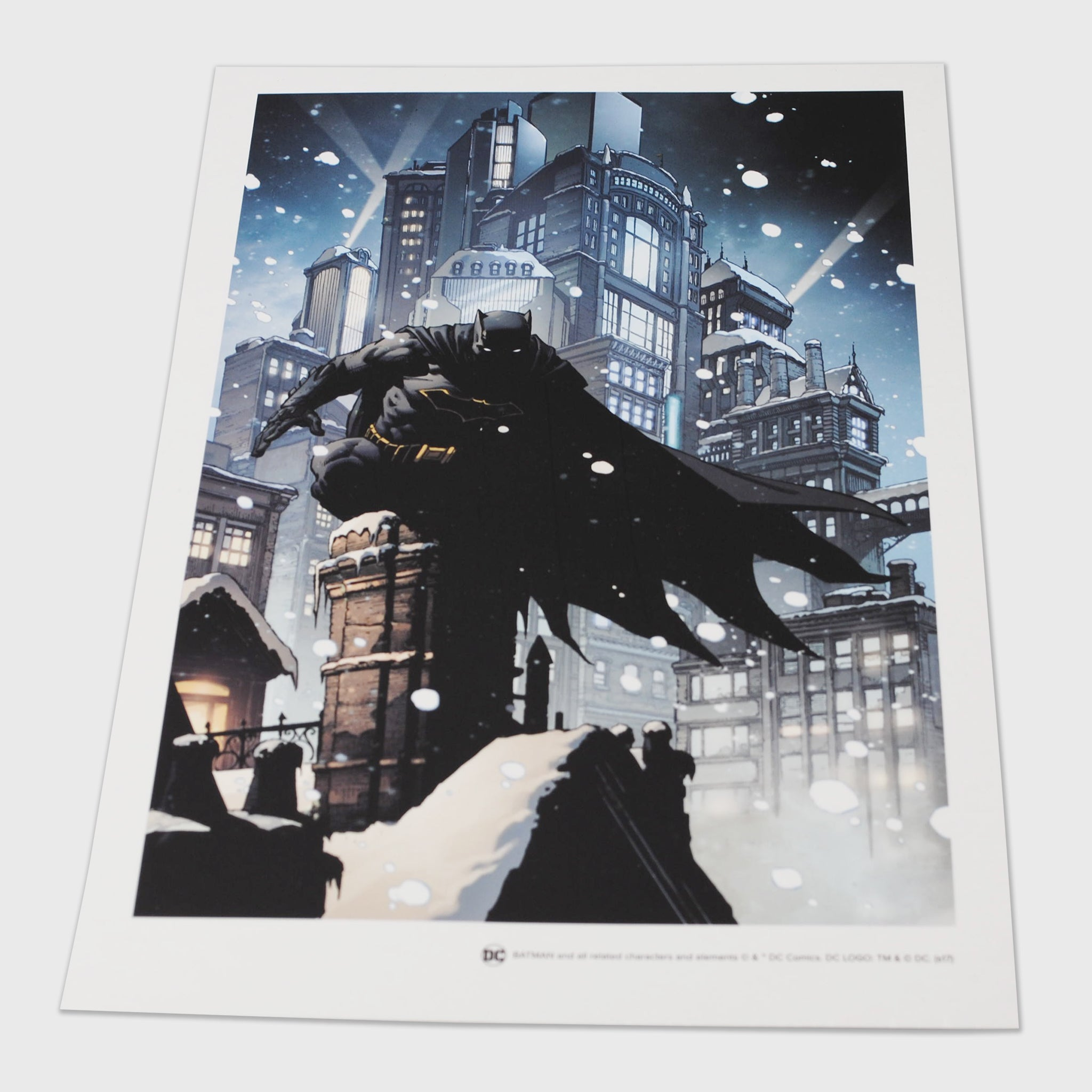 world's finest the collection batman art print poster graphic print collectible dc comics caped crusader exclusive collectors box culturefly