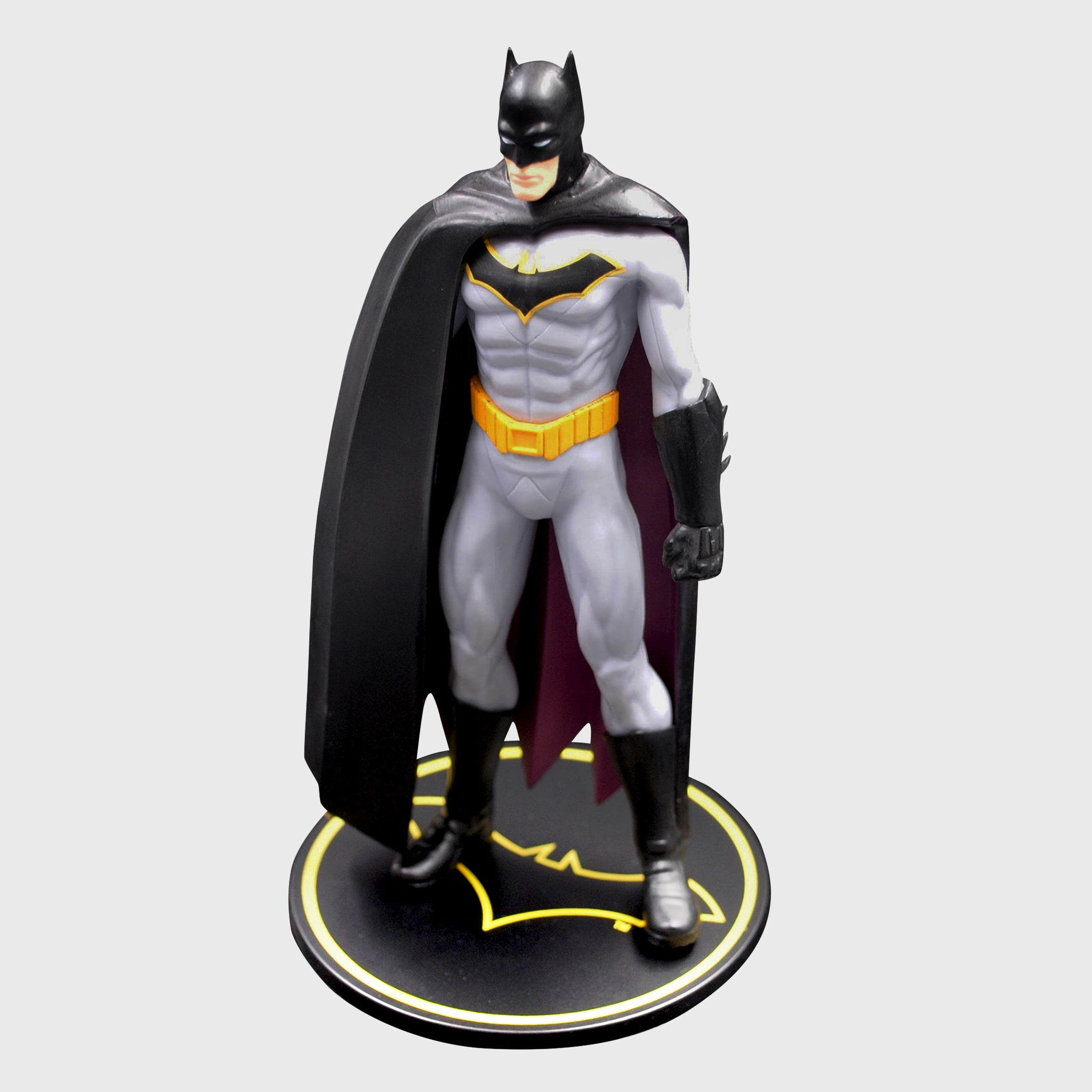 world's finest the collection batman vinyl figure collectible dc comics caped crusader exclusive collectors box culturefly