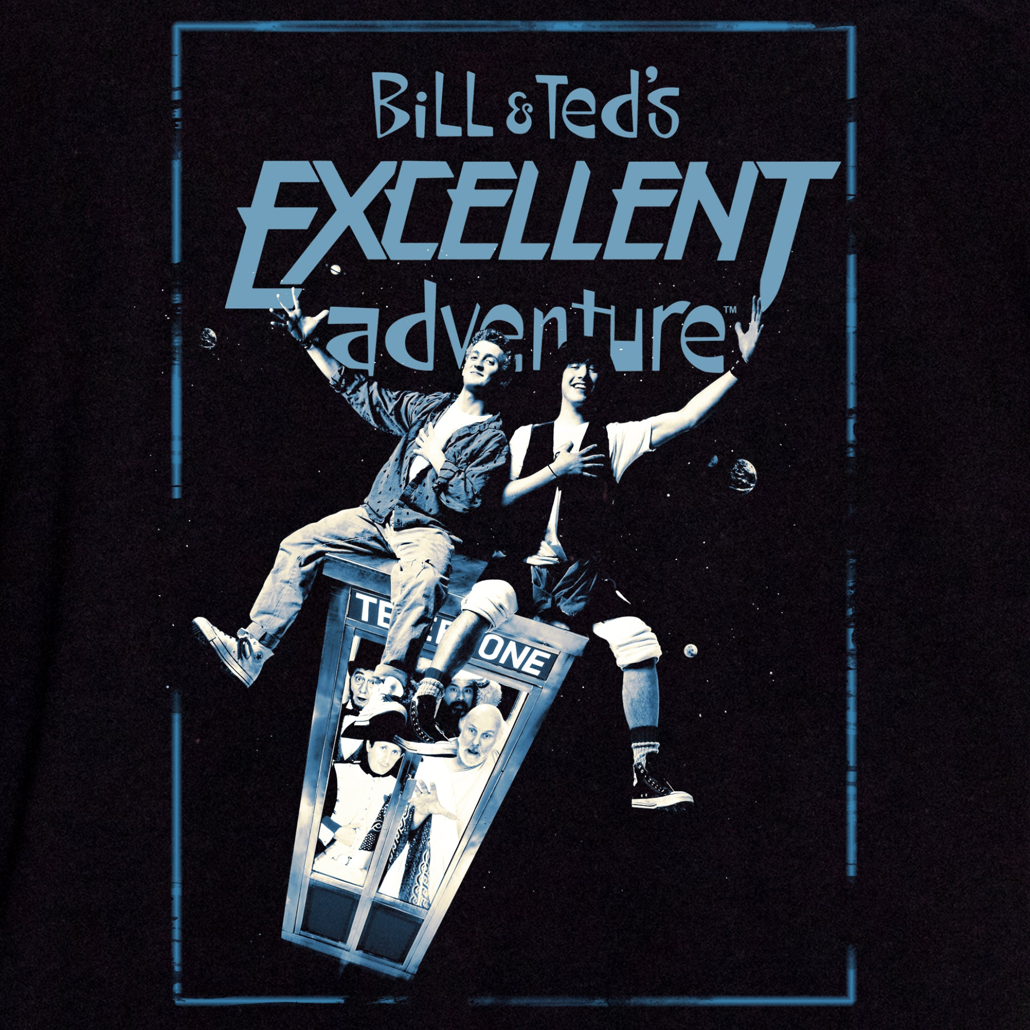 bill and ted's excellent adventure apparel t-shirt graphic shirt culturefly