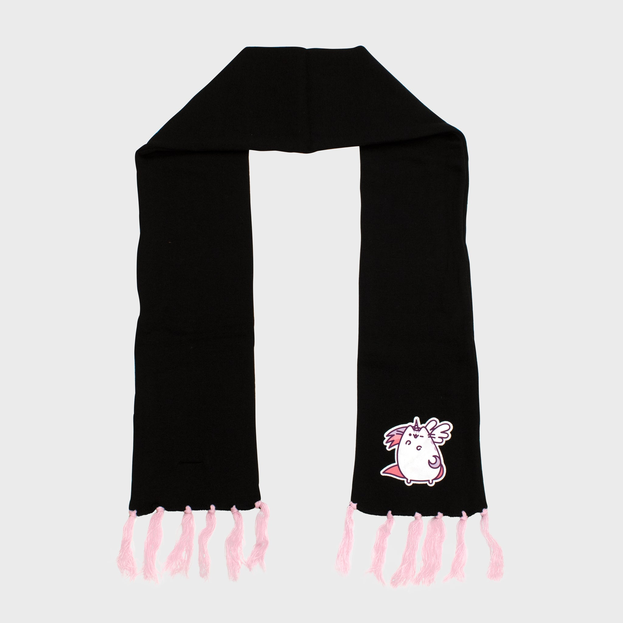pusheen scarf super pusheenicorn accessory winter cold fall culturefly