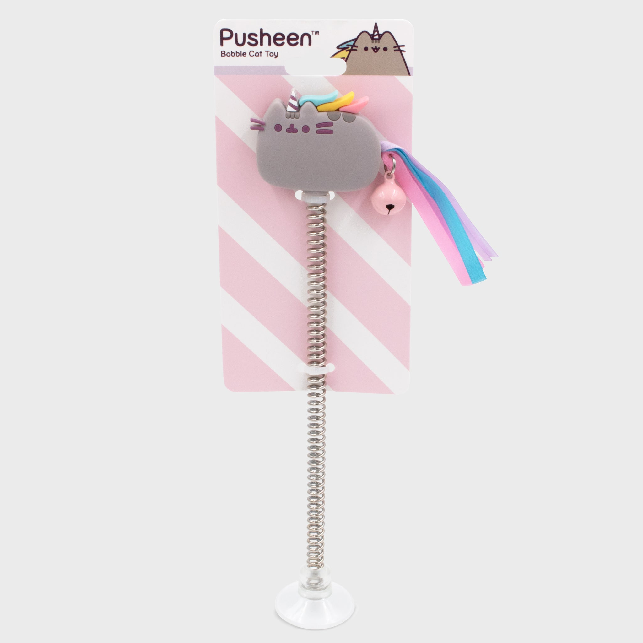 pusheen pet cat toy bobble cute adorable pusheenicorn unicorn culturefly