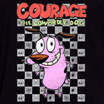 courage the cowardly cartoon network 90s cartoons 90s kids t-shirt graphic shirt apparel culturefly