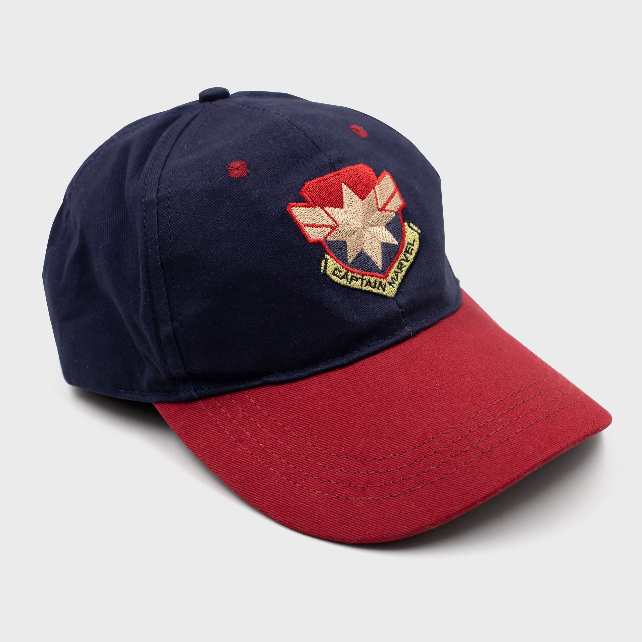 captain marvel marvel entertainment mcu movie superhero hat apparel headwear collectible collector exclusive box culturefly
