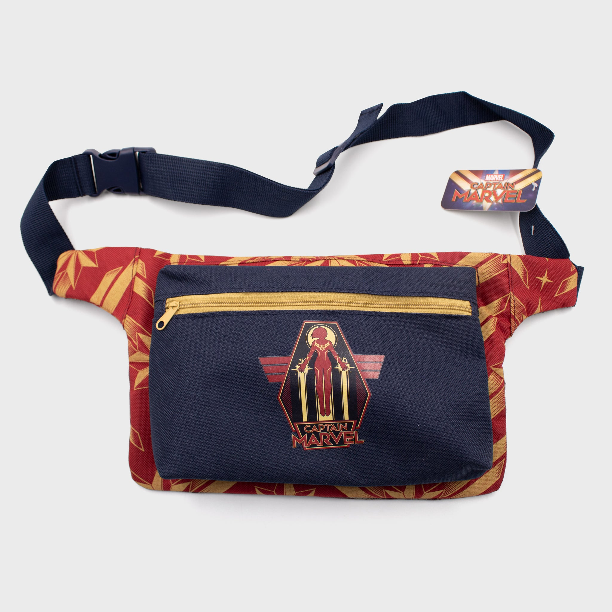 captain marvel marvel entertainment mcu movie superhero fanny pack accessory collectible collector exclusive box culturefly