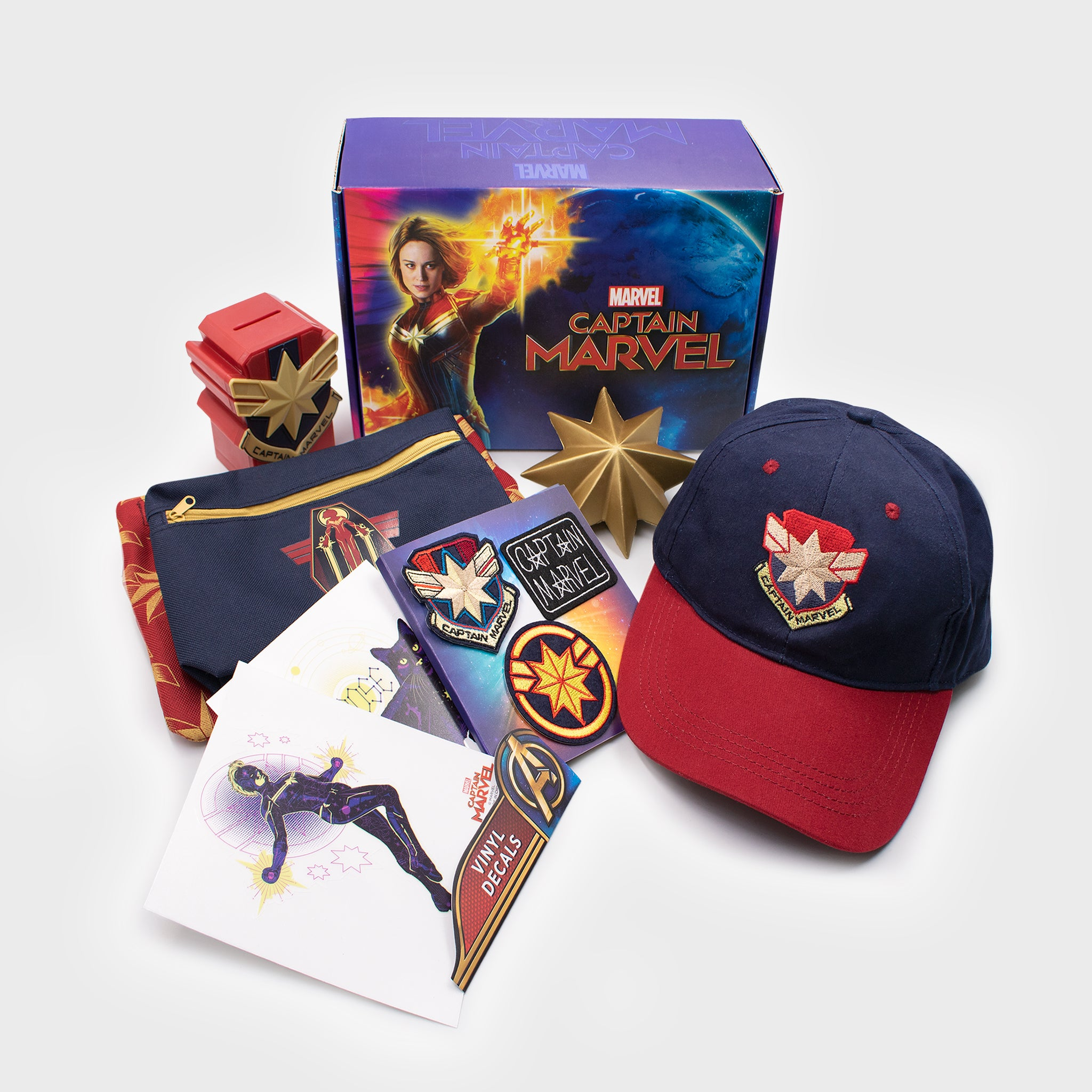 Captain Marvel Collector's Box
