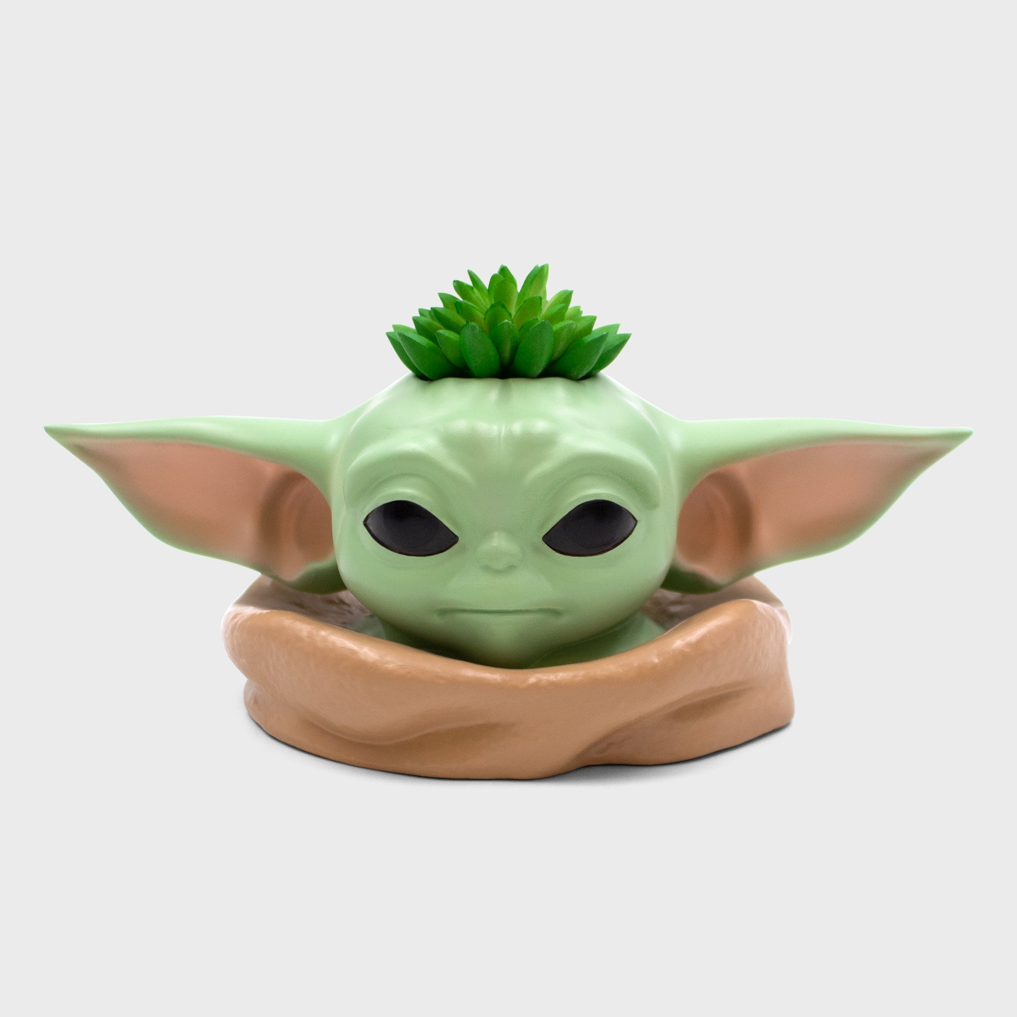 the child planter baby yoda the mandalorian home decor collectible star wars culturefly