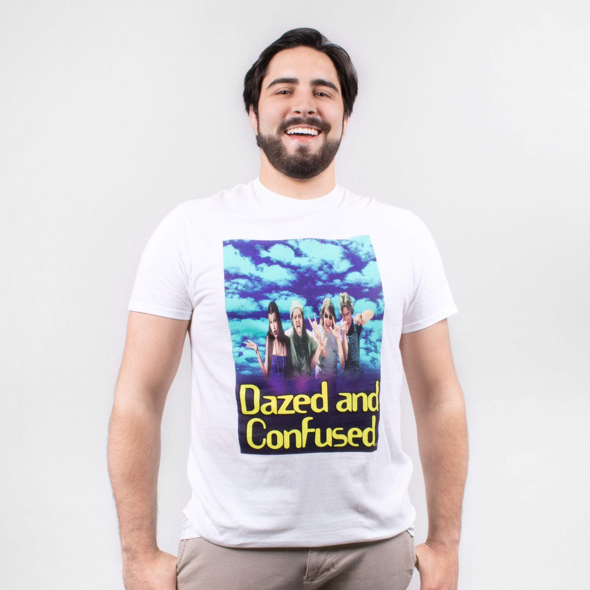 men dazed and confused 25th anniversary group t-shirt graphic shirt apparel culturefly