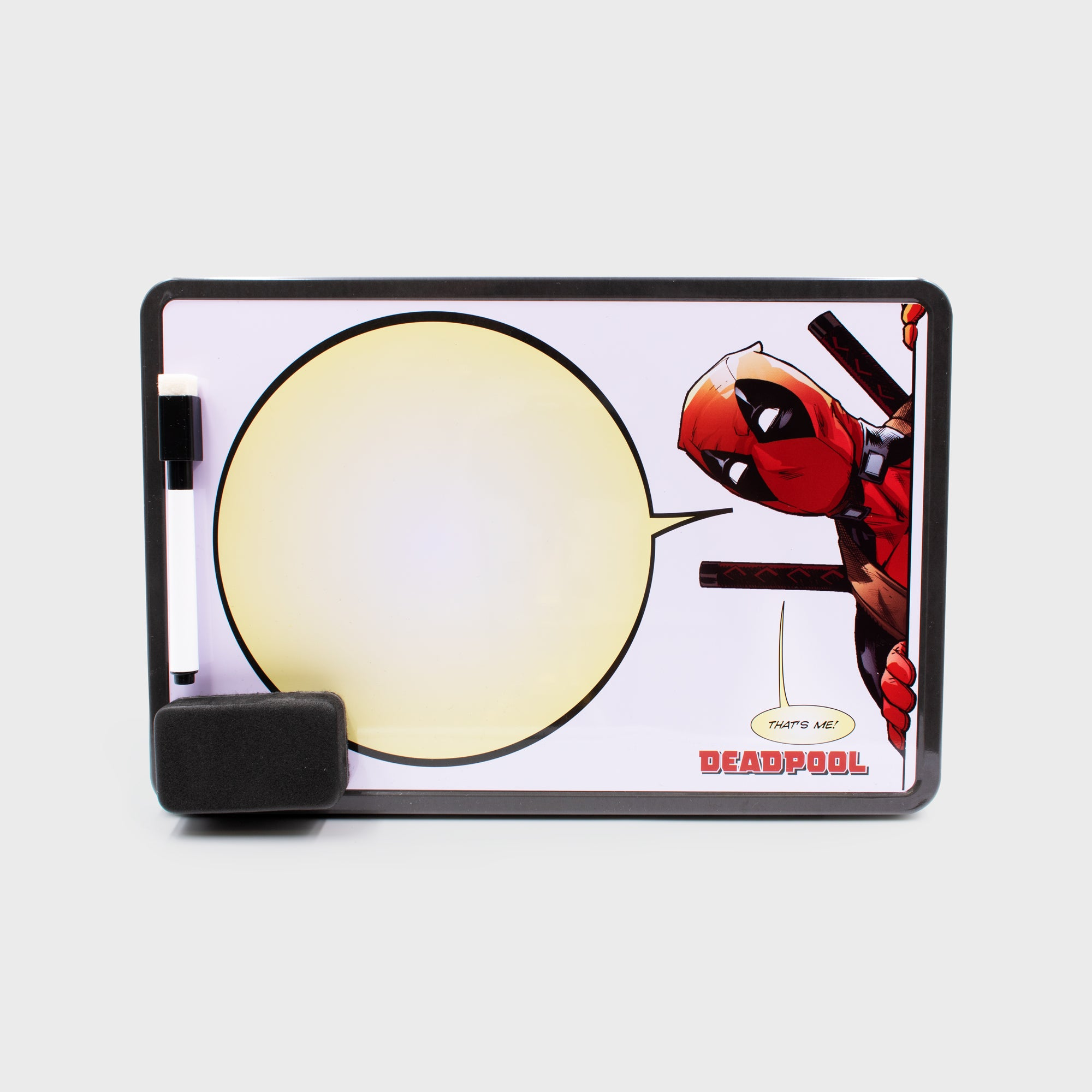 deadpool marvel superhero exclusive collector box home decor collectible dry erase board culturefly
