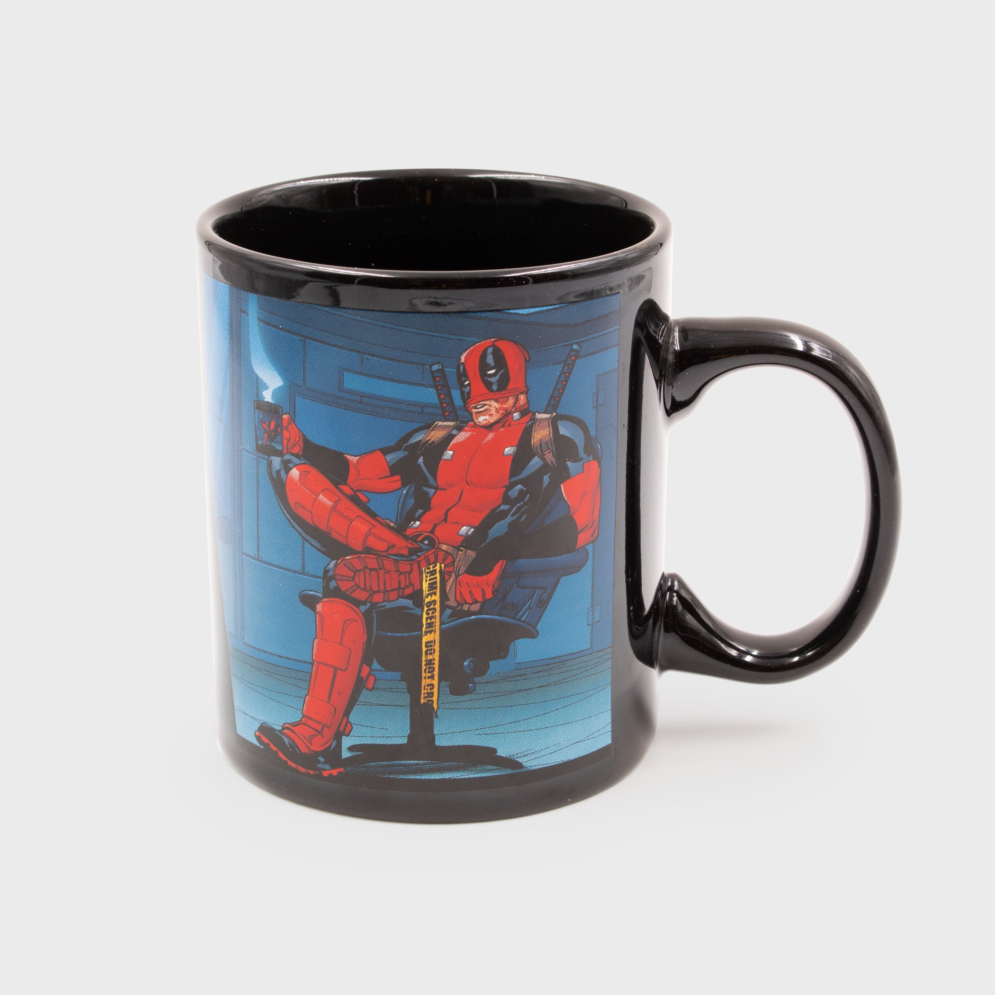deadpool marvel superhero exclusive collector box collectible mug drinkware kitchenware culturefly