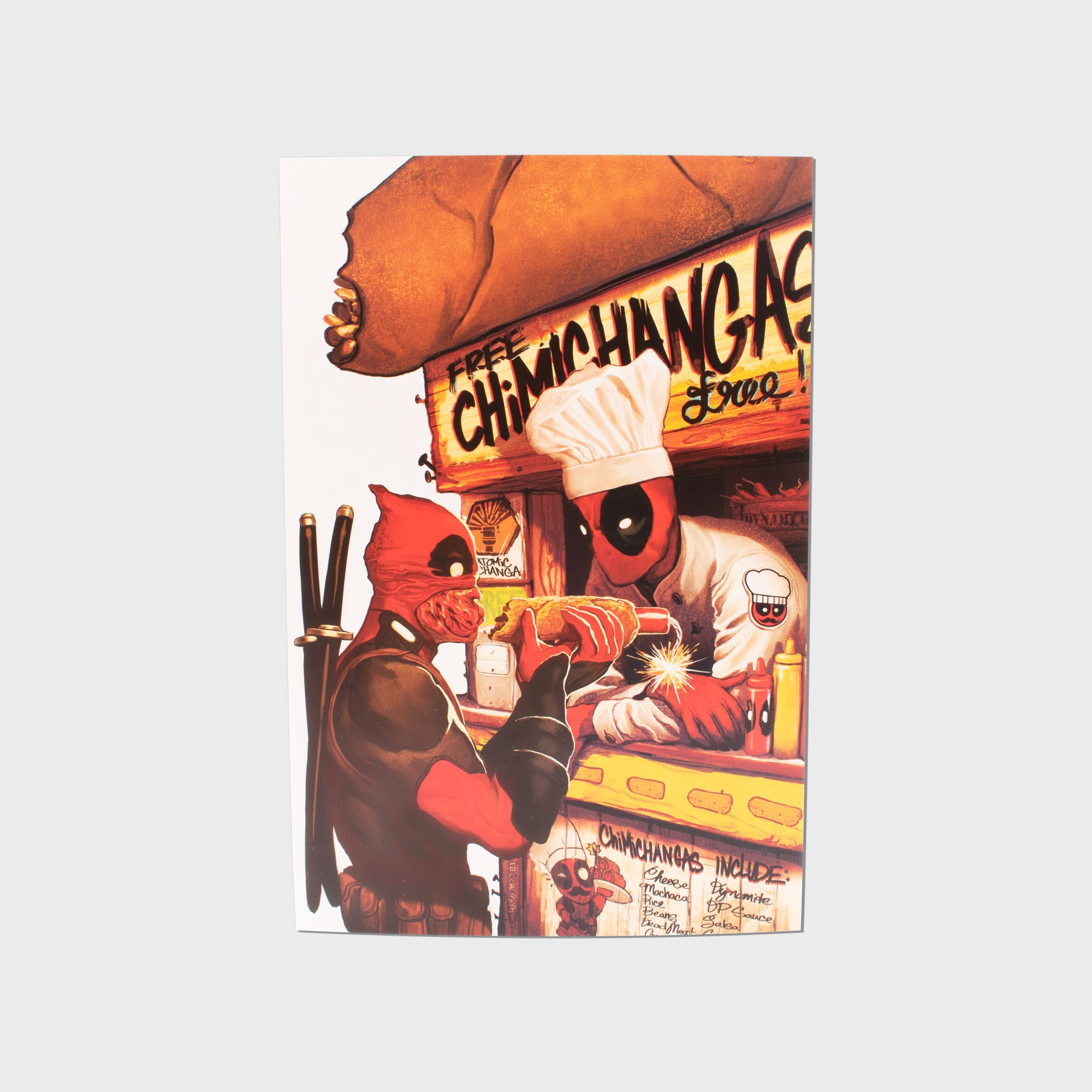 deadpool marvel superhero exclusive collector box home decor collectible postcard culturefly