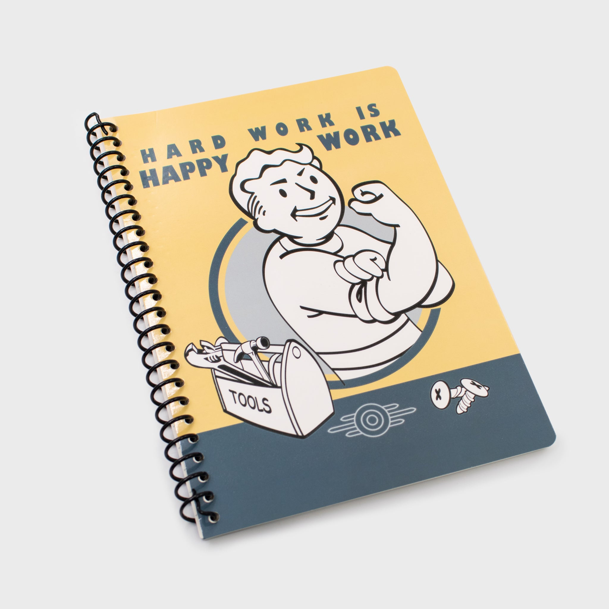 fallout collectors box exclusive gaming video games vault boy spiral notebook journal bethesda collectible culturefly