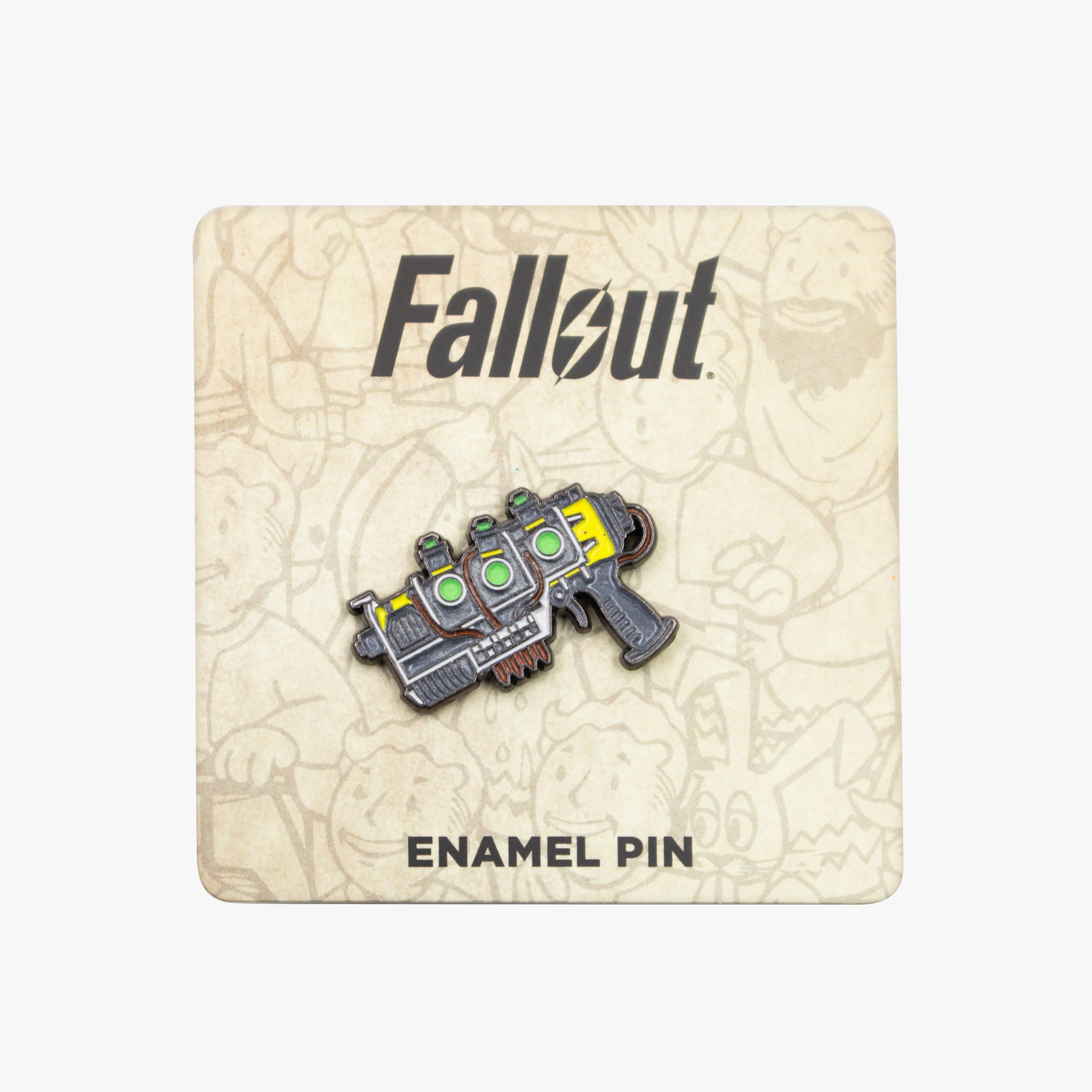 fallout collectors box exclusive gaming video games vault boy plasma pistol glow in the dark enamel pin bethesda collectible culturefly