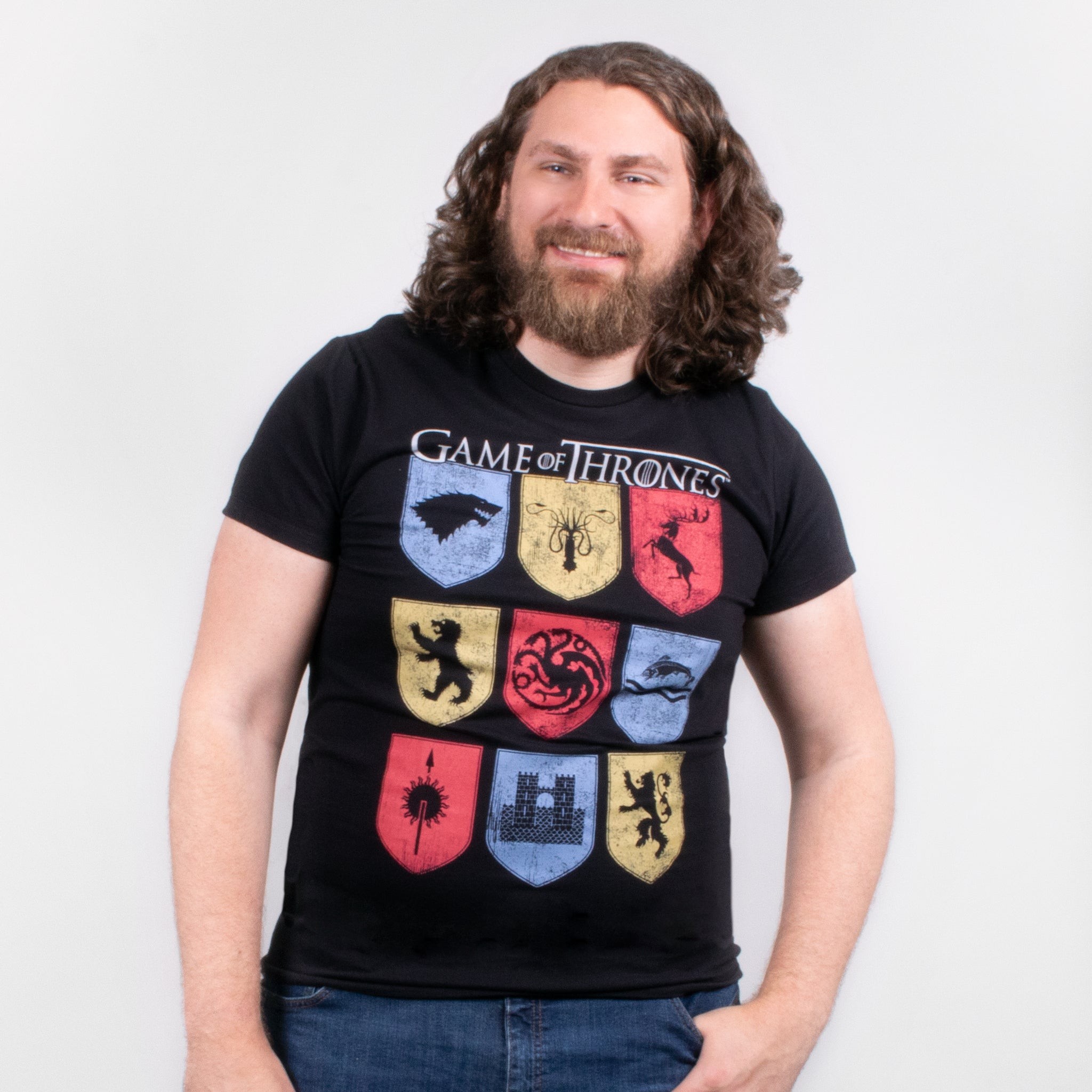 men game of thrones got sigil banners t-shirt shirt graphic apparel culturefly