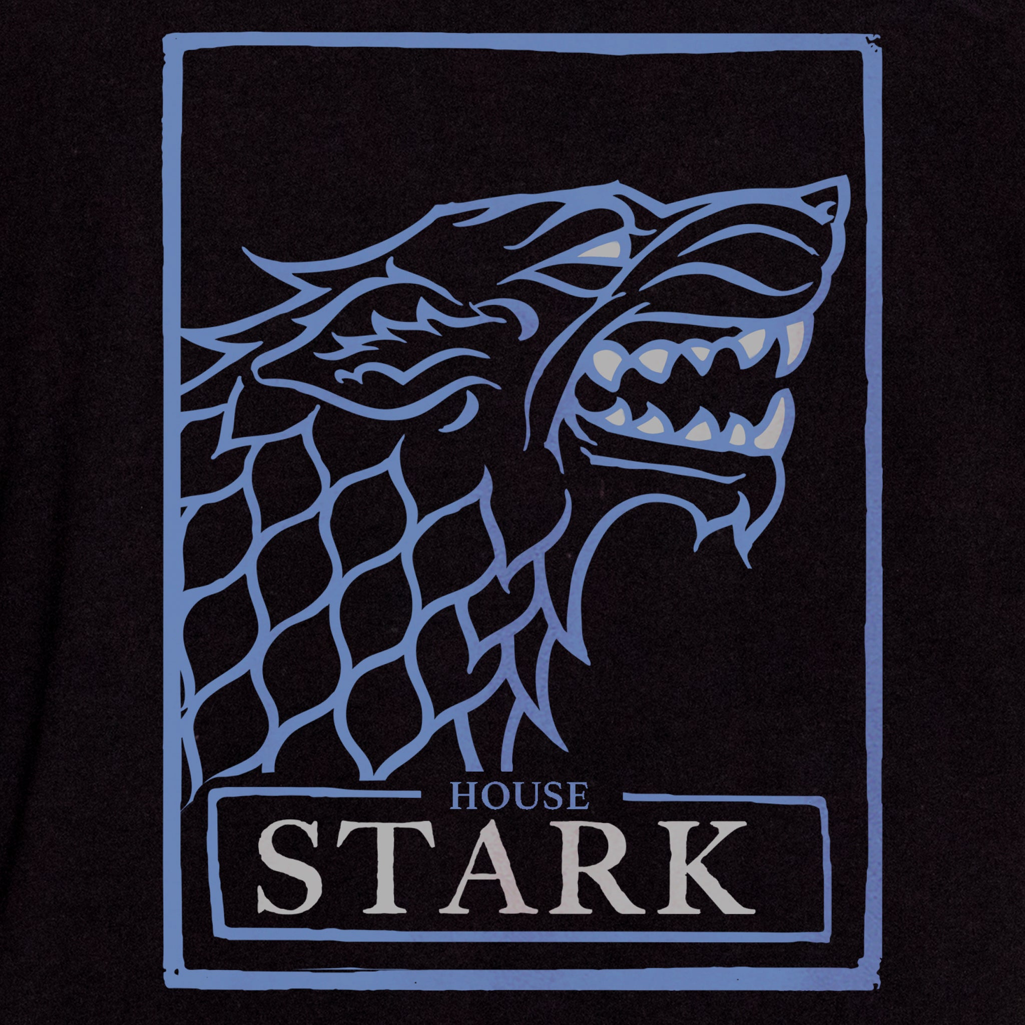 game of thrones house stark t-shirt graphic tee apparel got short sleeves culturefly