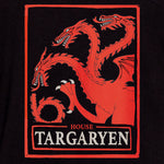 game of thrones house targaryen t-shirt graphic tee apparel got short sleeves culturefly