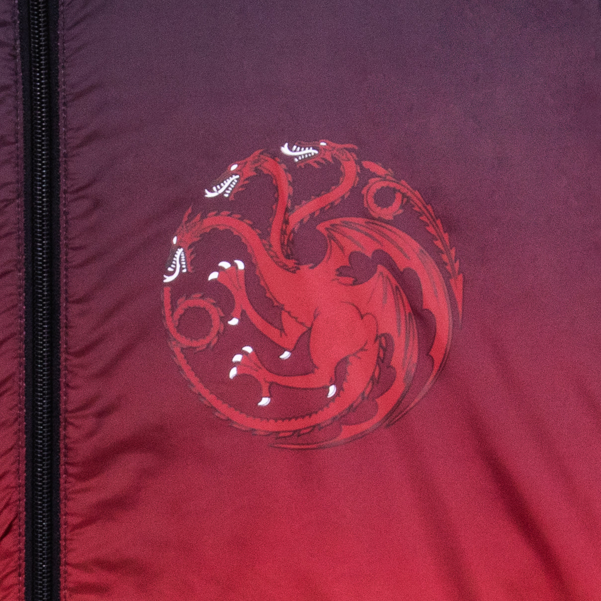 game of thrones apparel windbreaker targaryen got outerwear jacket rain fire and blood red culturefly