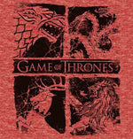 Game of Thrones - Four Banners T-Shirt