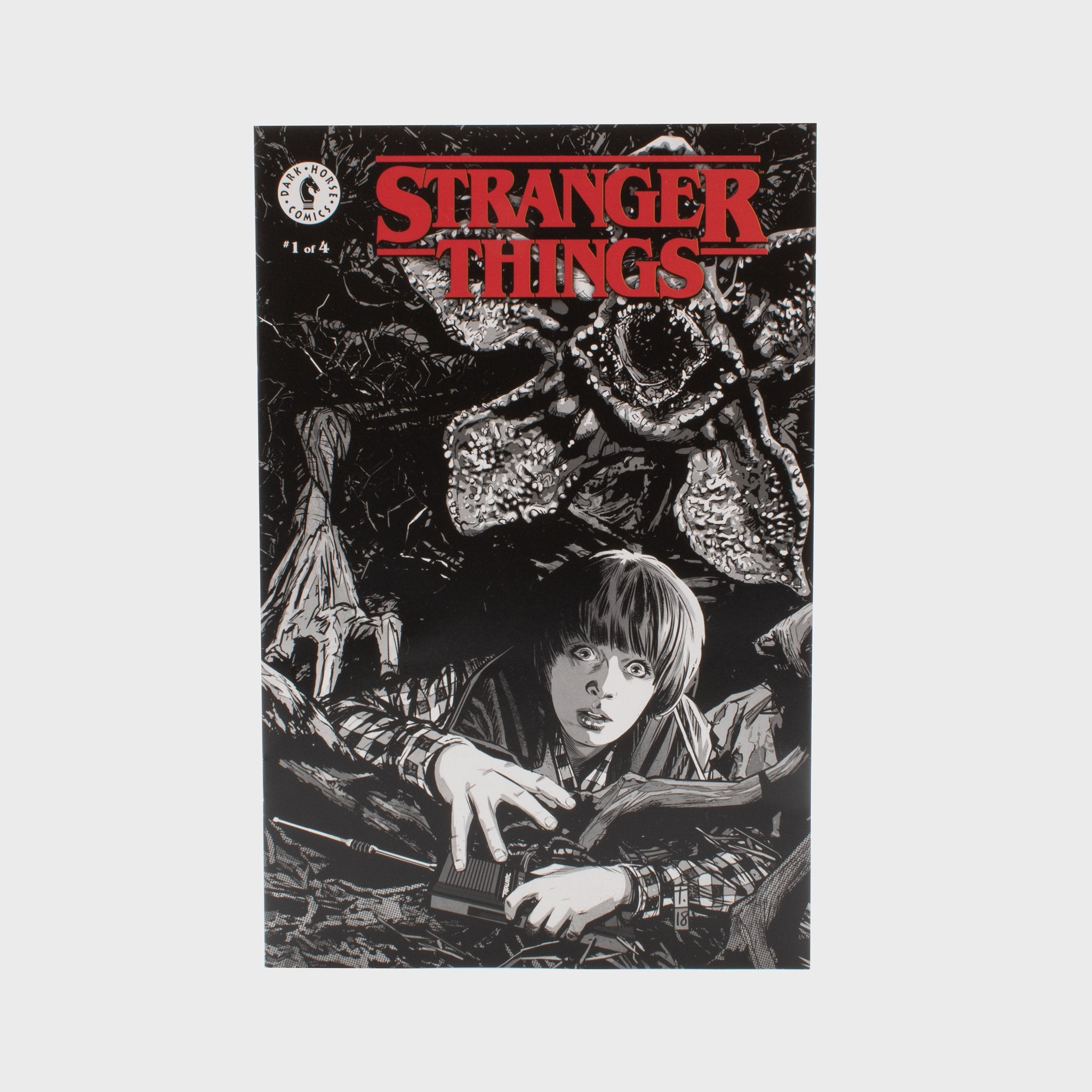 stranger things comic book comics tomm cocker book eleven netflix collector's box collectible exclusive upside down waffles culturefly