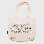 stranger things canvas light up tote bag bag eleven netflix collector's box collectible exclusive upside down waffles culturefly