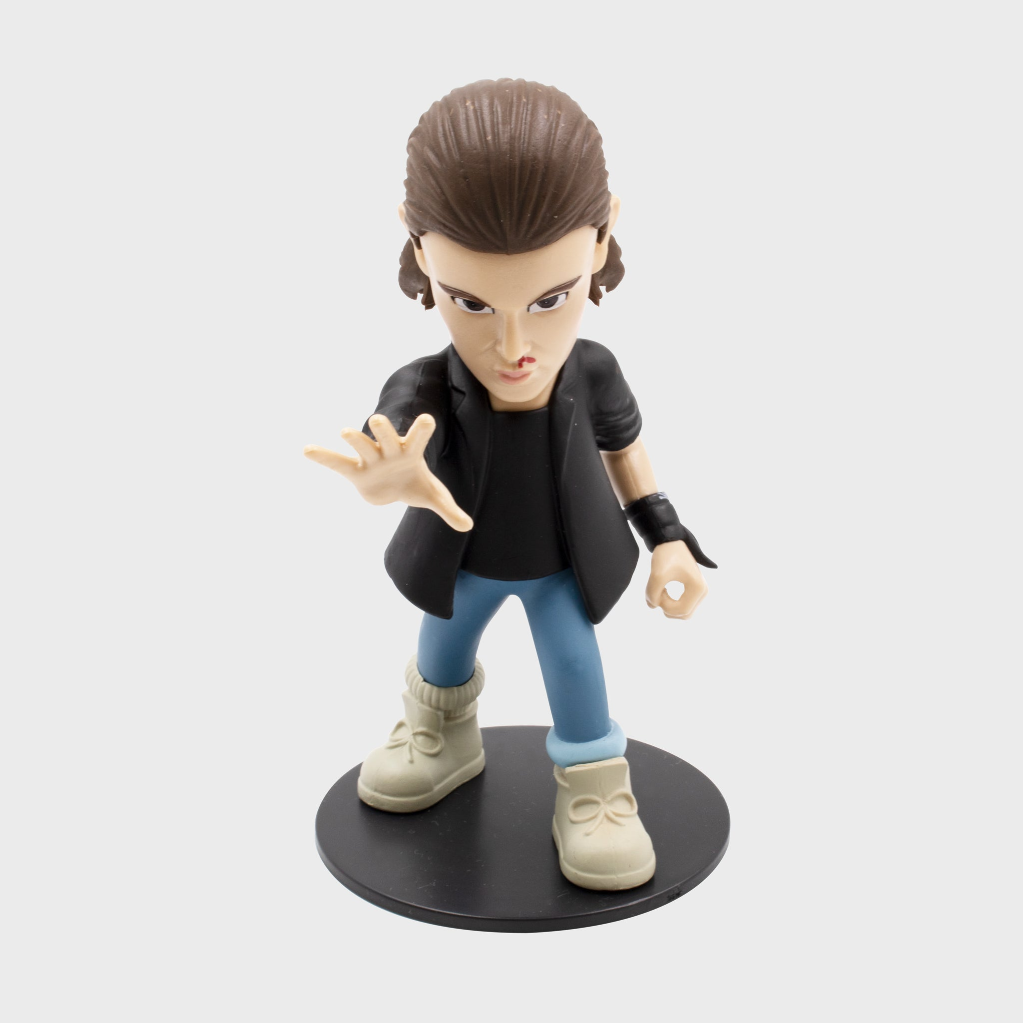 stranger things eleven vinyl figure figurine netflix collector's box collectible exclusive upside down waffles culturefly