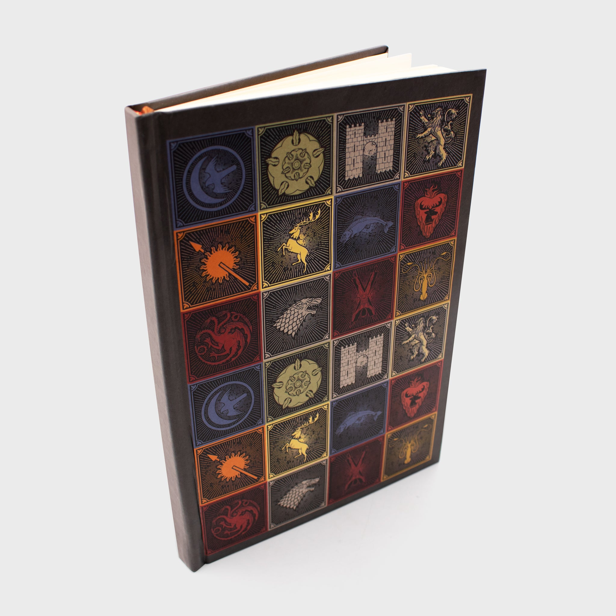 game of thrones got box collectibles exclusives notebook journal house sigil collector collection culturefly