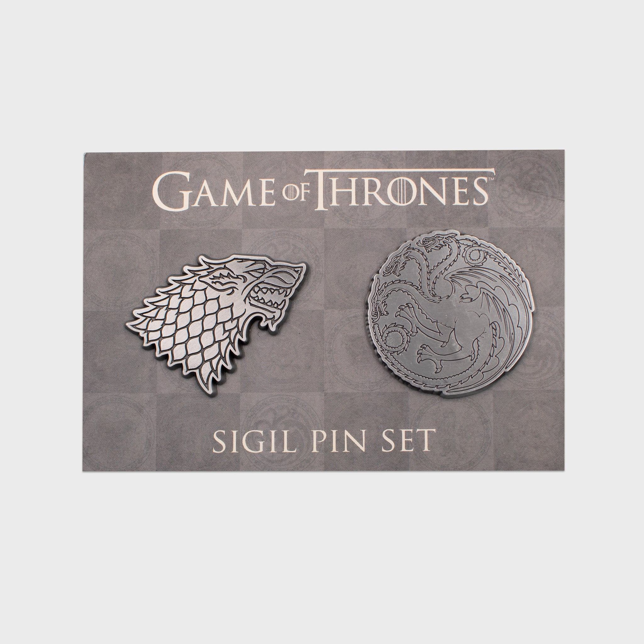game of thrones got box stark targaryen sigil pin set enamel pin collectibles exclusives collector collection culturefly