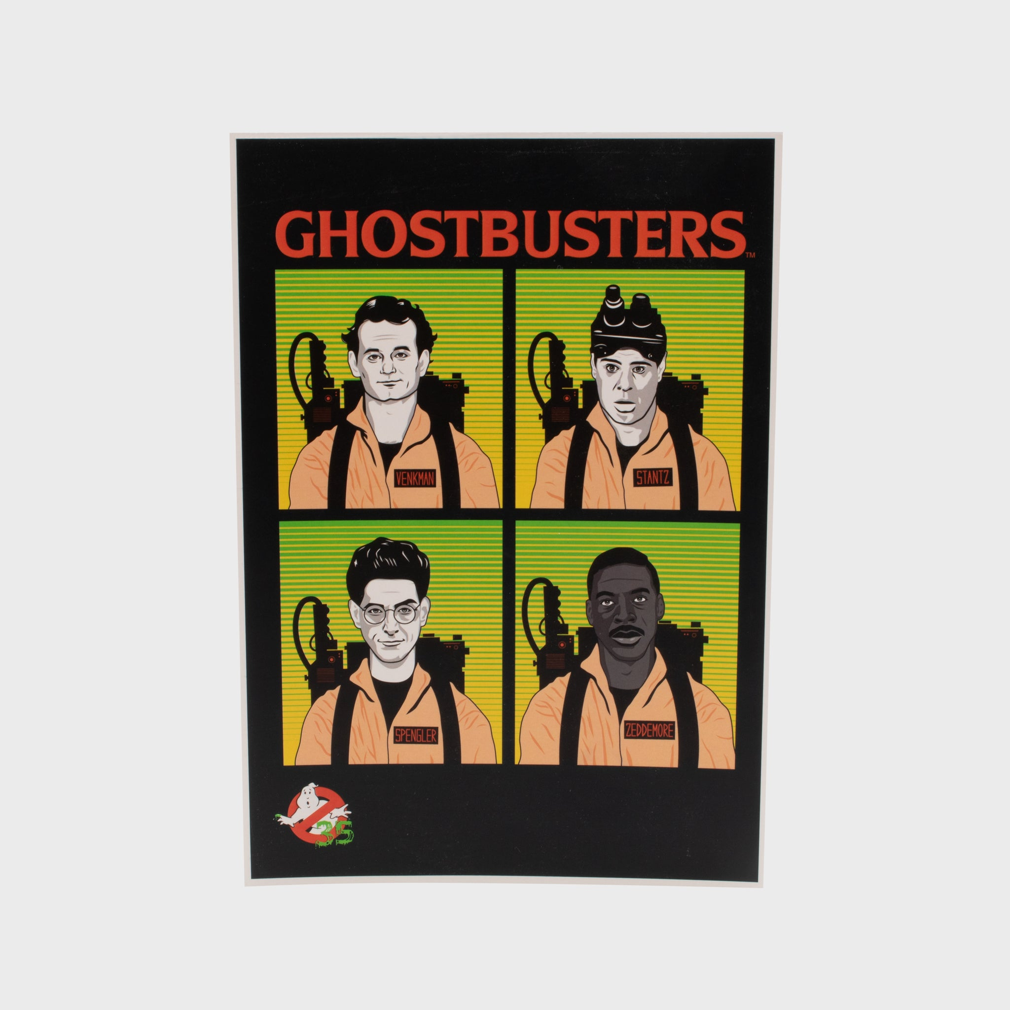 ghostbusters 80s stay puft gamestop retail box collectibles exclusive accessories culturefly art print poster Peter Venkman Raymond Ray Stantz Egon Spengler Winston Zeddemore