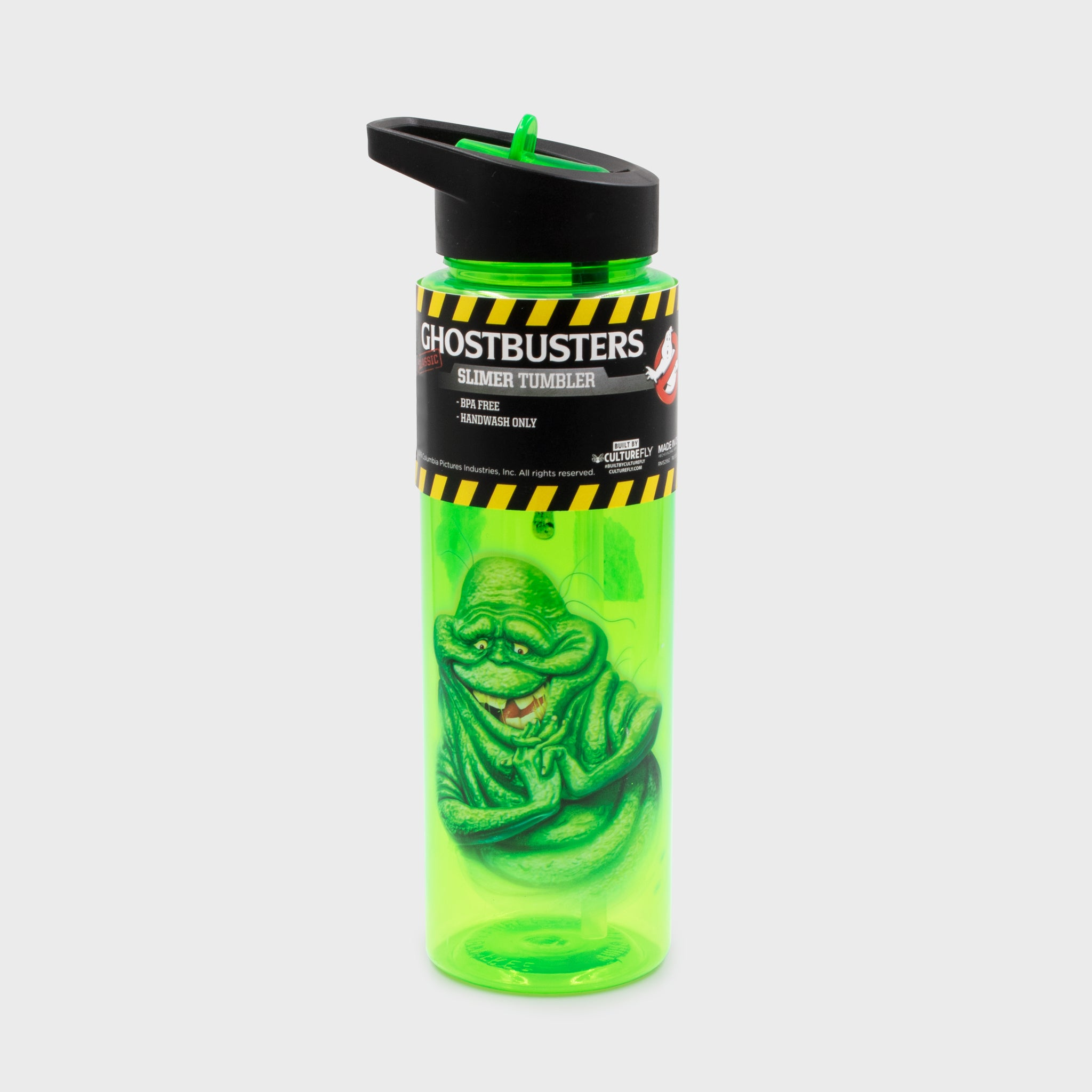 ghostbusters 80s stay puft gamestop retail box collectibles exclusive accessories culturefly slimer water bottle drinkware